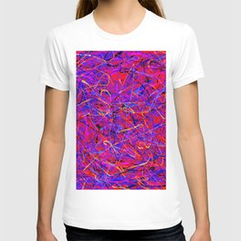 lots of lines T-shirt