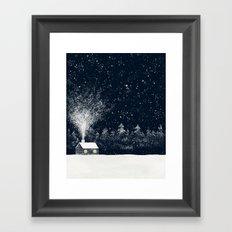 The Snow Makers Framed Art Print