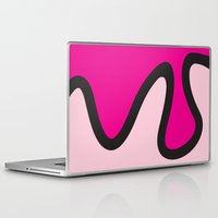 ice cream Laptop & iPad Skins featuring Ice Cream by Dale J Cheetham