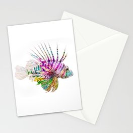 When I Dream of Lionfish Stationery Cards
