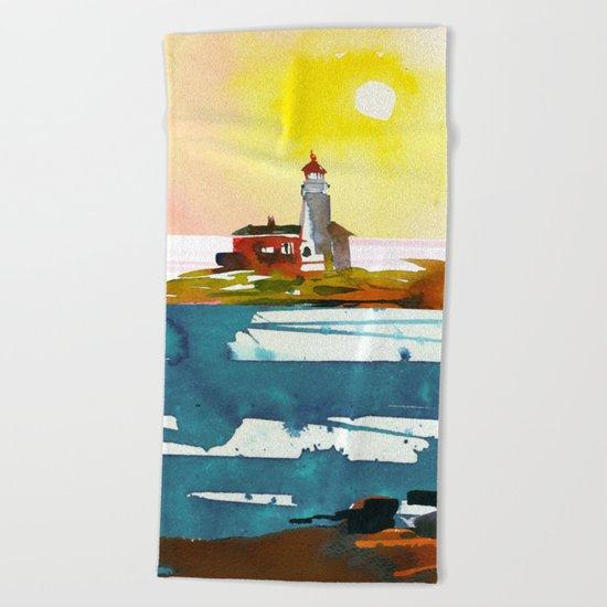 Seascape #6 Beach Towel