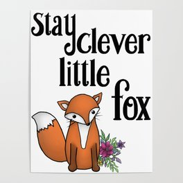 Clever Fox Poster