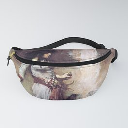 THE MAGIC CIRCLE - JOHN WILLIAM WATERHOUSE Fanny Pack