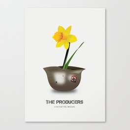 The Producers - Alternative Movie Poster Canvas Print