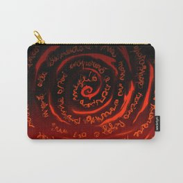 Rolled words Carry-All Pouch