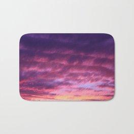 Pink Purple Sunset Bath Mat