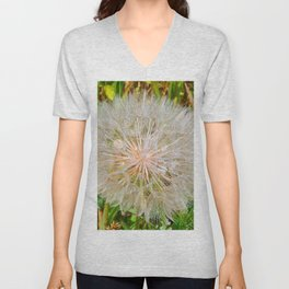 Seed Dispersement Device Unisex V-Neck