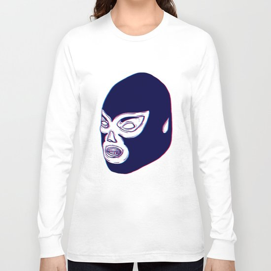 Lucha Libre Mask Long Sleeve T-shirt