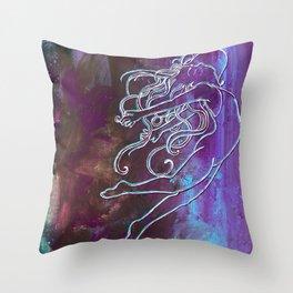 A Battlecry Throw Pillow