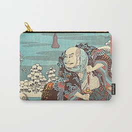 Hiroshige Carry-All Pouch
