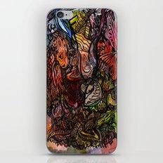 Watercolor Illusion  iPhone & iPod Skin
