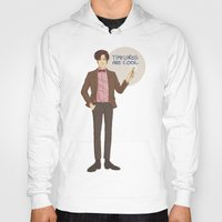 doctor who Hoodies featuring Doctor Who by Pulvis