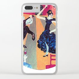 The Flamenco, SPAIN       by Kay Lipton Clear iPhone Case