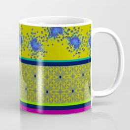 Alien Linear Border Coffee Mug