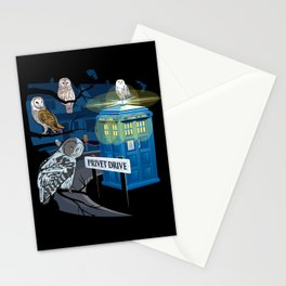 Hedwig Says Who! Stationery Cards