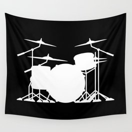 Drum Set Wall Tapestry