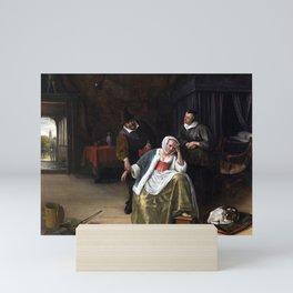 Jan Steen The Lovesick Maiden Mini Art Print