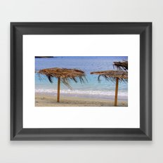 Life is a Beach Framed Art Print