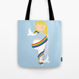 After lost, comes joy Tote Bag