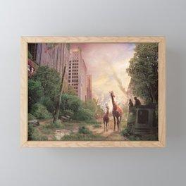 Journey's End Framed Mini Art Print