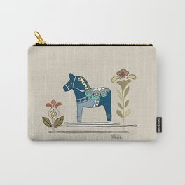 Dala Horse Carry-All Pouch