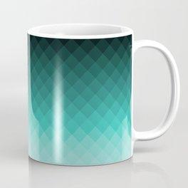 Ombre squares Coffee Mug