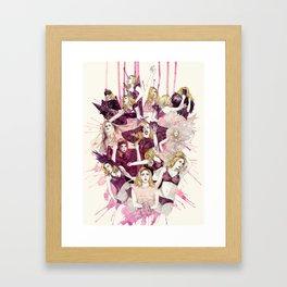 The Monster Ball Framed Art Print