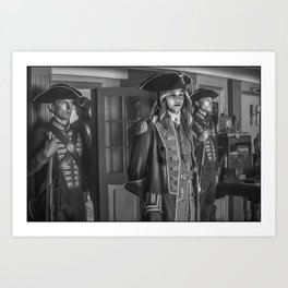 Commodore Kara Zor-El Art Print