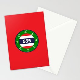 Thai flag roundel  555  HA HA HA Stationery Cards