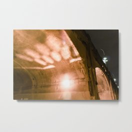 Bridge illuminations  Metal Print