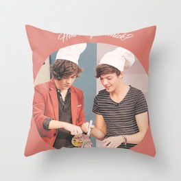 How do you whisk? Throw Pillow