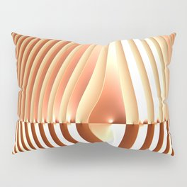 Bending the Bars of Rules - Pure Fractal Abstract Pillow Sham