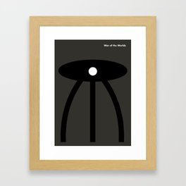 War of the worlds Framed Art Print