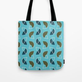 Abstract / Organic Surface Pattern (blue) Tote Bag