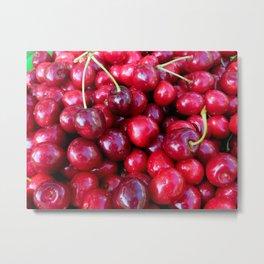 Cherry Cherry Lady Metal Print