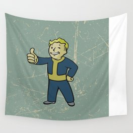 Vault Boy - fallout 4 Wall Tapestry