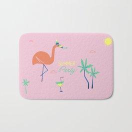 Pink-Flamingo Bath Mat