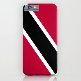 Trinidad and Tobago flag emblem iPhone Case