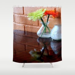 Halfbricking Shower Curtain
