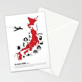 Japan (noun) Stationery Cards