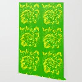 A flutter vortex of butterflies Wallpaper