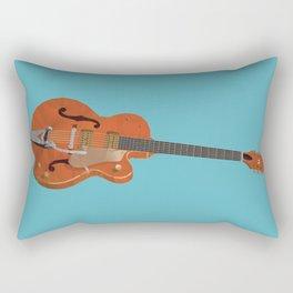 Gretsch Chet Atkins Guitar polygon art Rectangular Pillow