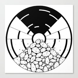 circle_ Canvas Print