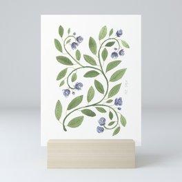 Elegant blooms Mini Art Print