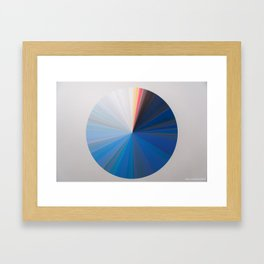 Chromascope Framed Art Print