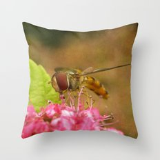 Little Hover. Throw Pillow