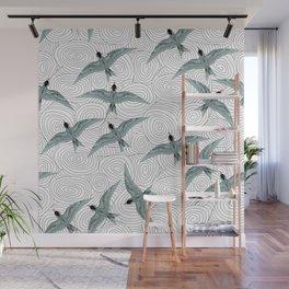 Arctic Terns Wall Mural