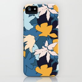 Hawaiian Neck Gator Exotic Flowers iPhone Case