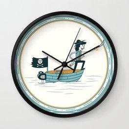 Fran Ponce De Leon Wall Clock