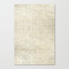 gOld squares Canvas Print